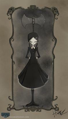 hasaniwalker: Wednesday Addams