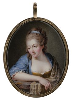 Portrait of a woman, c. 1770 by Nicolas-Andre Courtois