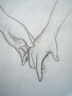 Your hand fits in mine like it's made just for me. drawing