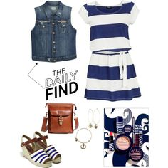 """""""Daily Find - Nautical Style"""" by musicfriend1 on Polyvore"""