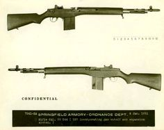 Rifle Caliber .30 T44 (T37 with Harvey Gas Piston).