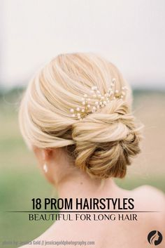 Take a look at our complete hairstyles for long hair for prom and get inspired by these romantic, trendy, and classic hairstyles for your big night. ★ See more: http://glaminati.com/stunning-prom-hairstyles-for-long-hair/?utm_source=Pinterest&utm_medium=Social&utm_campaign=FI-stunning-prom-hairstyles-for-long-hair-12