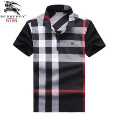 Burberry polos t-shirts, short sleeve cotton tops, brand shop Polo Rugby Shirt, Polo T Shirts, Collar Shirts, Types Of Suits, Polo Design, Moda Casual, Mens Attire, Camisa Polo, Burberry Men