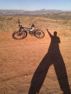 My mountain bike @ Tapia Canyon, Trek FuelEx 6