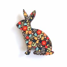 Bunny Brooch | 50 Quirky Gift Ideas To Make Your Mother's Day