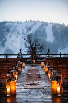 Photography: Cory Ryan Photography - www.coryryan.com/ Photography: Cory Ryan - www.coryryan.com/   Read More on SMP: http://www.stylemepretty.com/2014/12/22/snowy-mountain-winter-wedding/