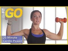 BeFiT GO | 20 Min Cardio Power Sculpt Mobile Workout ......  LIKED THIS..... it is basically a series of 30 second moves, repeated 3 times.