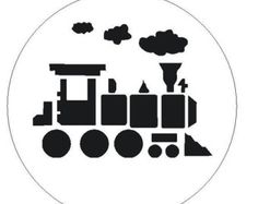 Popular Items For Train Stencil On Etsy | All about loving each other