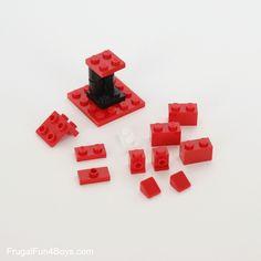 How to Build a LEGO Nutcracker Ornament