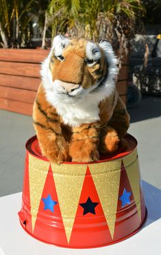 Circus/Carnival birthday prop or centerpiece- Kids birthday/Baby Shower/Circus party