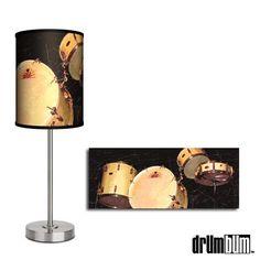 DRUM BUM: MISCELL: HOUSEWARES: Drums Lamp