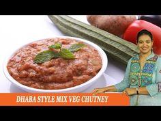 MIX VEGETABLE CHUTNEY - Mrs Vahchef - YouTube