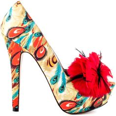 Shoe Clip Pinspiration - Tweety - Red by Mojo Moxy