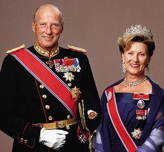 King Harald V and Queen Sonja of Norway. *** Queen Sonja's birthday, 4 July (1937) *** http://en.wikipedia.org/wiki/Queen_Sonja_of_Norway