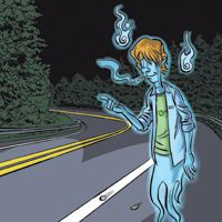 The Red-Headed Hitchhiker of Route 44 is an urban legend about a young man who appears in cars on Route 44 in Massachusetts late at night. Red Flannel Shirt, The Hitchhiker, Honda Element, Ghost Pictures, Cryptozoology, Urban Legends, Haunted Places, Macabre, Paranormal