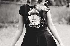 The Black Heart | Cute Outfit by Jess Vieira