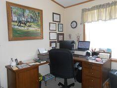 """Scraproom: Mi pequeño rincón de """"mi"""" mundo - Sala de estudio - escritorio # 1"""