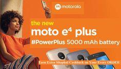 Moto E4 Plus Low Price in #Flipkart, #Amazon, #Ebay, #Snapdeal - Buy Online