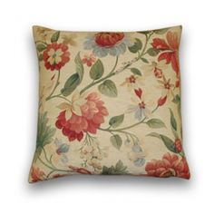 Flowers & Bees Tapestry Cushion