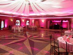 Uplighting And Basic Dj Set Up At North Ritz Club