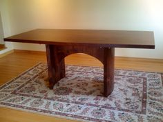 Solid Alder Conference Table, Retail $1350