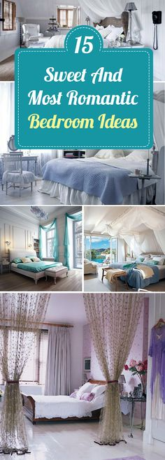 You can do anything with your partner in these romantic bedrooms ❤ #romantic #bedroom