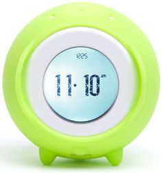I love a cute gadget! This alarm clock jumps off your bedside table and rolls around until you catch it.
