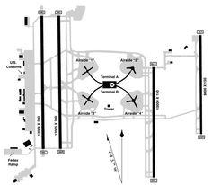 Orlando International Airport Map