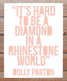 hard to be a diamond