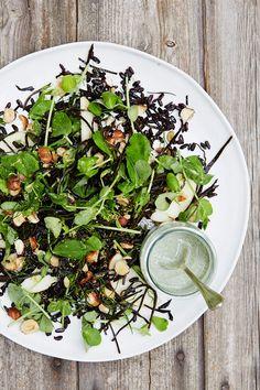 Arame Seaweed, Apple & Hazelnut Salad