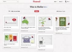 The first agency to make Pinterest its main website.