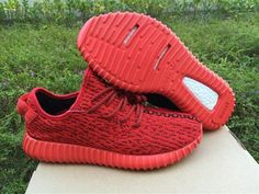 "Authentic Adidas Yeezy 350 Boost ""Red"""