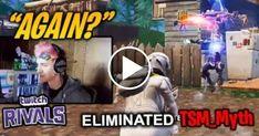 Ninja Kills TSM Myth TWICE in the Same Spot (Twitch Rivals Highlights) Fortnite Twitch Tv, Ninja, Highlights, Games, Videos, Ninjas, Luminizer, Gaming, Hair Highlights