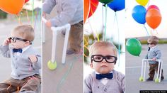 "Baby dressed like Carl from ""Up"". I'm so doing this if I ever have a son"