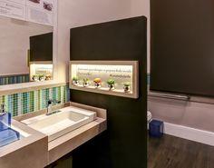 37 banheiros de todas as edições de 2014 da Casa Cor - Casa DETALHE PAREDE