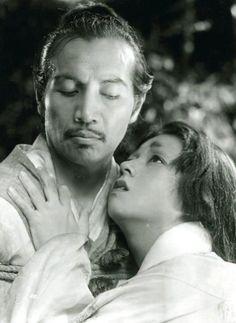 Masayuki Mori & Machiko Kyō in Rashomon, 1950, dir. Akira Kurosawa