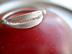 Silver Small Ring in Filigree por SusanaTeixeiraJewels en Etsy