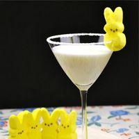Marshmallow Peep Martini #recipe