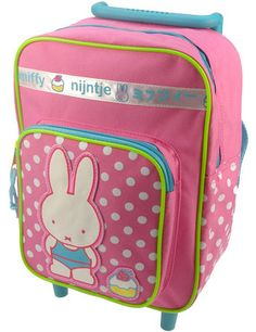 MIFFY Nijntje  Cupcakes  Trolley Backpack Rucksack Bag 1-3 Years SUPER SWEET NEW