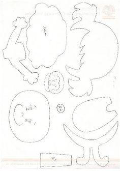 El Rincon Fofuchero: Fofuchas planas para cuadernos