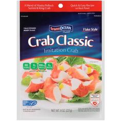 Get $0.75 Off Any TransOcean Crab Classic Or Lobster Classic Product With Printable Coupon!