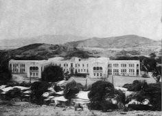 Hospital de Distrito de Fajardo 1940 al 1945. Hoy Hospital San Pablo de Fajardo.