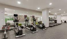Life Fitness cycling bikes, treadmills, and ellipticals include personal TVs Treadmills, 2 Bedroom Apartment, Cycling Bikes, Tvs, New Homes, Fitness, Modern, Life, Trendy Tree