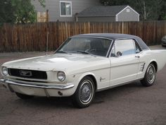 Car brand auctioned: Ford Mustang Black 1966 Car model ford mustang coupe 289 auto clean classic muscle car