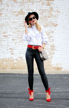 aa477cd25d8 Leather Pants - What Would V Wear