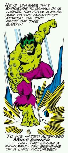 Hulk - the mightiest mortal on Earth! Marvel Comics Superheroes, Marvel Comic Books, Marvel Characters, Marvel Heroes, Marvel Movies, Marvel Dc, Hulk Vs Superman, Hulk Avengers, Giant Monster Movies