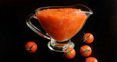 INGREDIENTES 1 Kilo de Tomates Frescos (de pera, rama, canarios...) 1 cebolla mediana Sal y pimienta al gusto Pizca de edulcorante (pa...