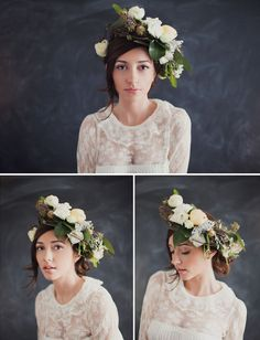 Real Flower Crown