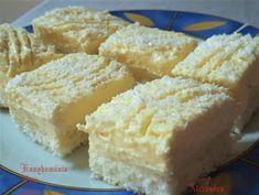Receptek, és hasznos cikkek oldala: Kókuszos sütemény Cake Cookies, Cornbread, Nutella, Feta, Mashed Potatoes, Cheesecake, Sweets, Ale, Ethnic Recipes
