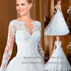 Sleeved lace princess dress